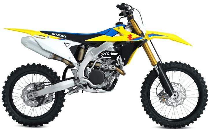 Suzuki announces technical details of RM-Z250