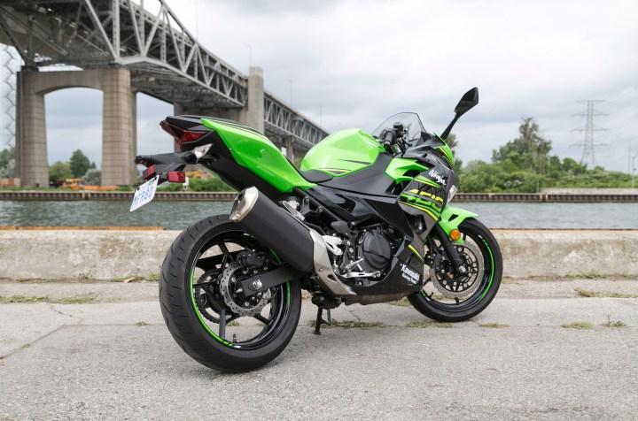 Test Ride: 2018 Kawasaki Ninja 400