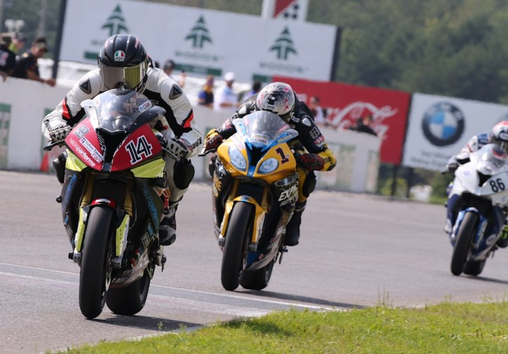 CSBK's 2018 finale runs at CTMP this weekend