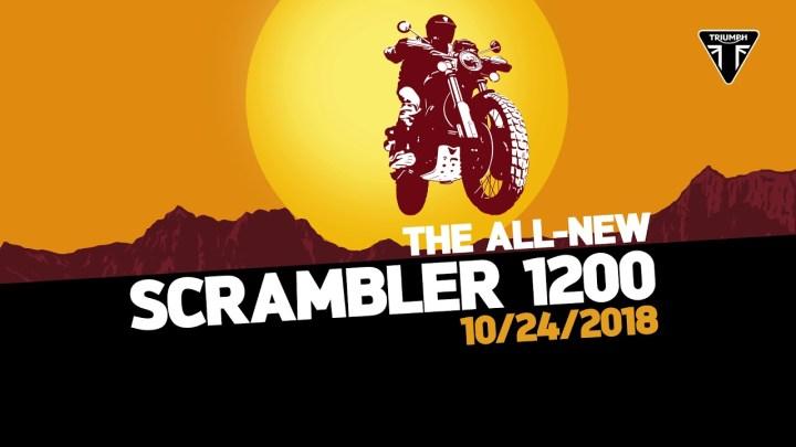 Triumph teases new 1200 cc Scrambler