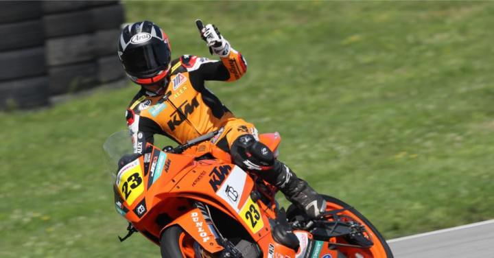 Alex Dumas to race with Team Hammer in MotoAmerica