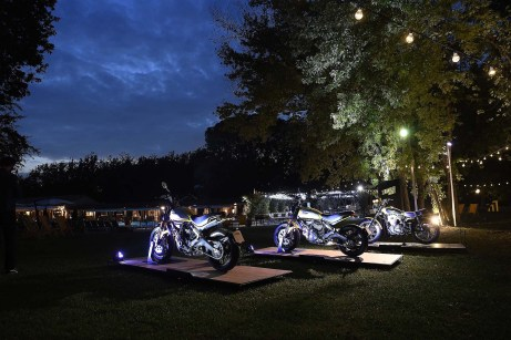 Ducati turned the inn's grounds into a Scrambler-themed party to make sure we experienced the #joyvolution for ourselves.