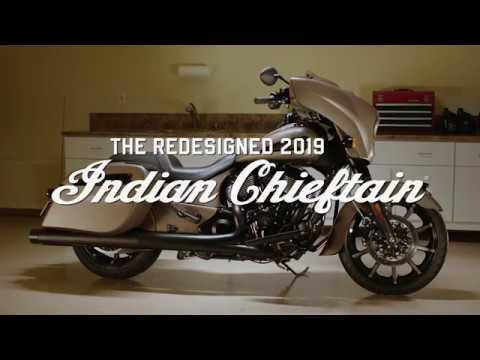 Updated Indan Chieftain models for 2019