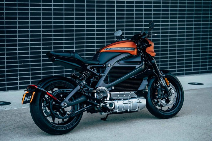 Harley-Davidson electric Livewire makes production debut
