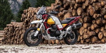 The Moto Guzzi V85 should appear in production form this fall. Maybe we'll also see something else based on this engine, as well.