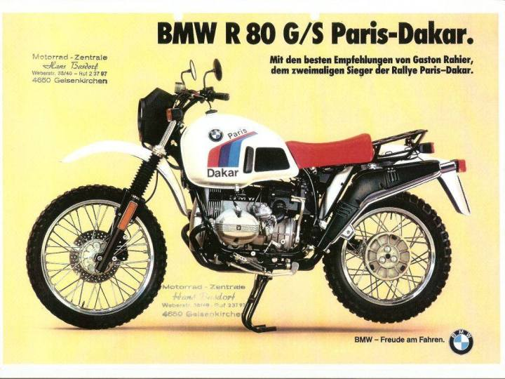 The Life and Times of the BMW GS
