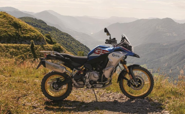 Here's your new BMW F850 GS Adventure