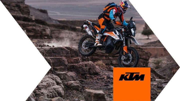 KTM 790 Adventure, 790 Adventure R unveiled