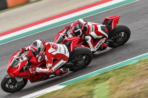 The Panigale V4 R was developed with lots of input from Ducati Corse and with Moto GP-derived bits.