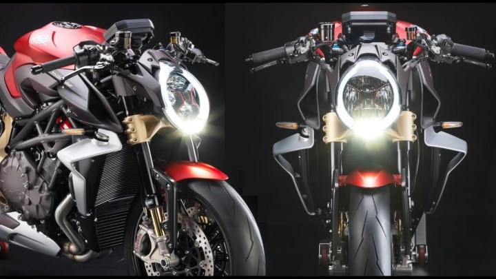 MV Agusta Brutale Serie Oro is the ultimate naked