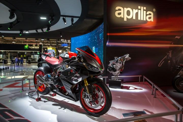 Aprilia RS 660 concept a shape-shifter?