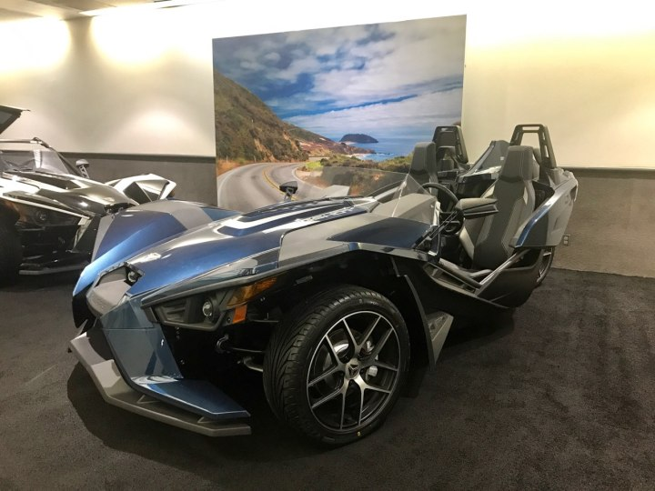 Polaris Slingshot sees tech updates