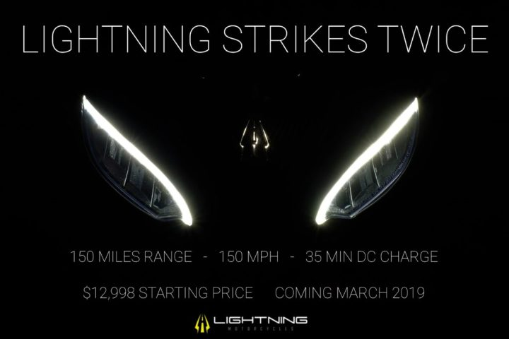Lightning says its second electric bike coming market
