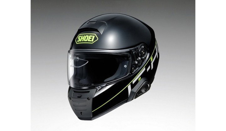 Shoei, NS West unveil IT-HT smart helmet concept
