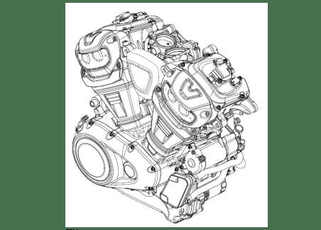 Harley Davidson Engine 1