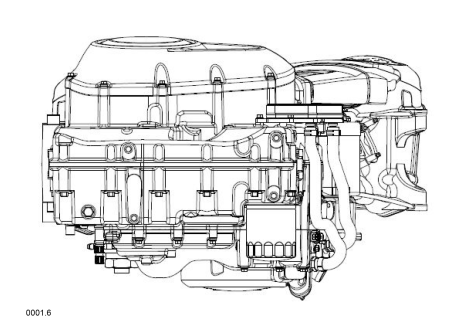 Harley Davidson Engine 6