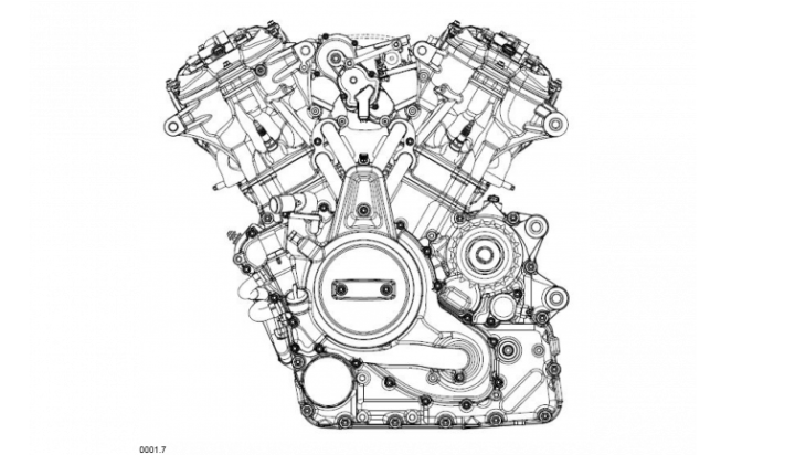 Spied! Design details of new Harley-Davidson V-twin