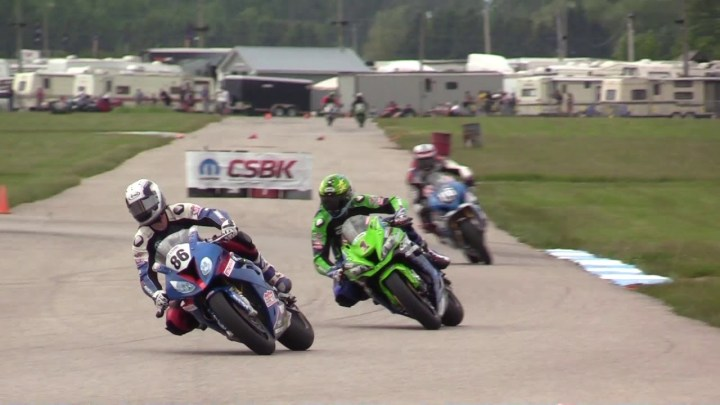 Video: CSBK Pro Superbike, Grand Bend
