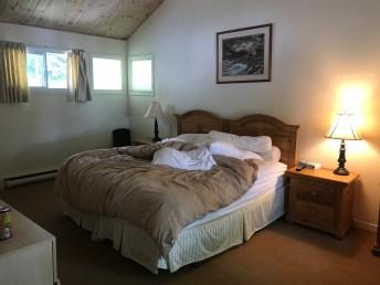 Dean's bedroom on the CMG Haliburton ride.