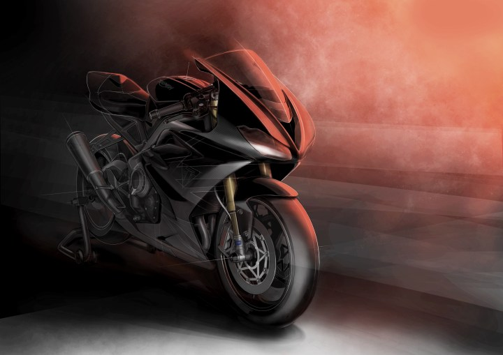 Triumph announces Daytona Moto2 765 machine