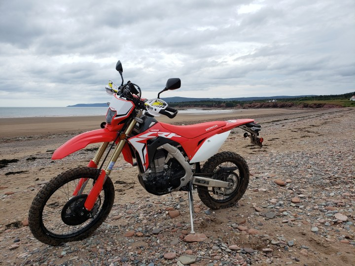 Another look at the Honda CRF450L