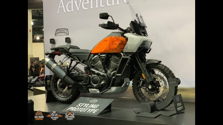 Harley-Davidson Pan America prototype breaks cover at motorcycle show