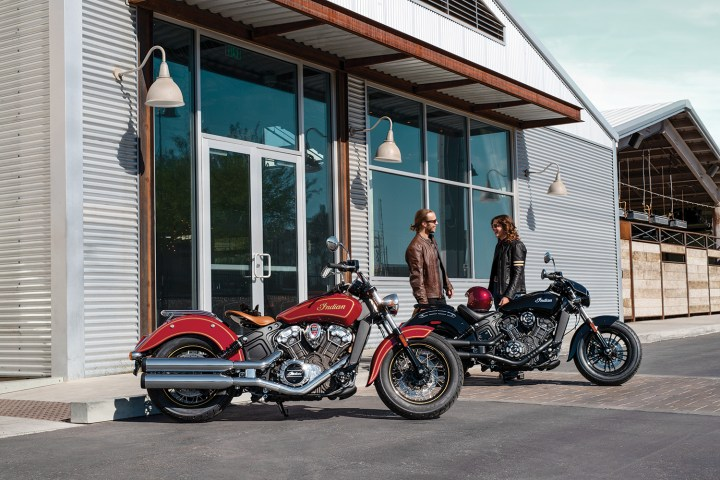 Indian introduces 100th anniversary models for Scout's centennary