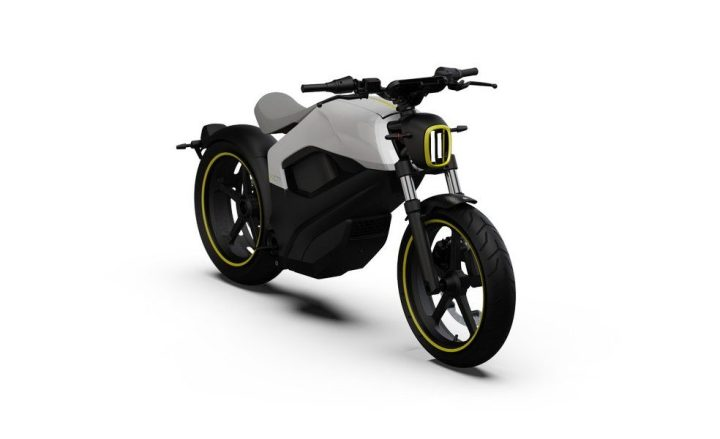 BRP displays electric motorcycle prototypes