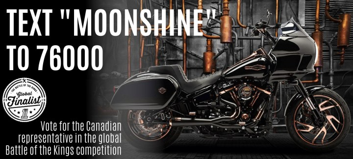 Vote for Canada in Harley-Davidson's Battle of the Kings