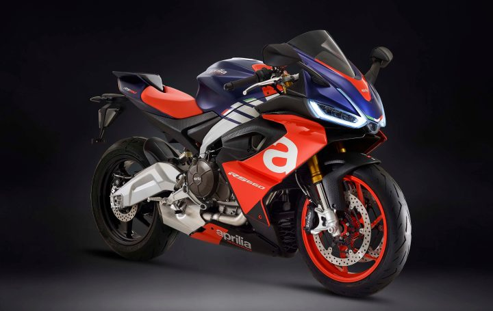 Aprilia RS660 debuts, with category-dominating specs