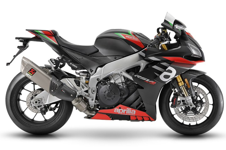 Aprilia updates RSV4 and Tuono V4 1100 Factory models