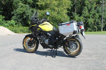 The 650 V-Strom...