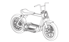 Harley scooter photos (1)