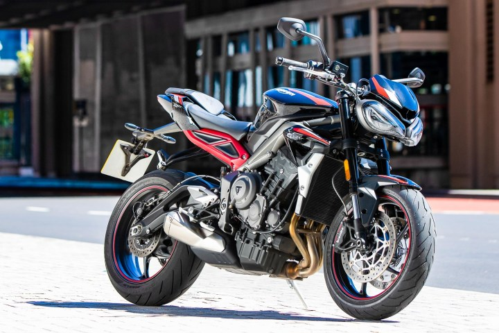 Triumph unveils the revised Street Triple R, with updates for 2020