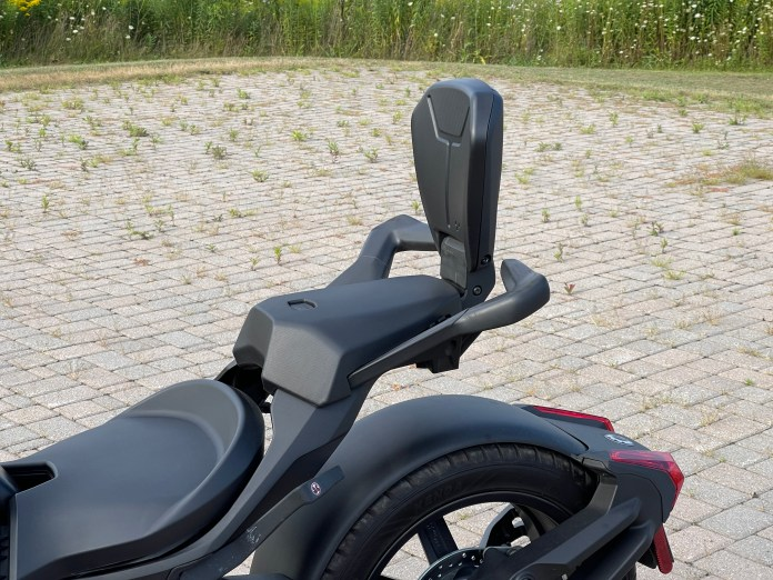 The passenger seat will run you about $1,200 including the mounting hardware.