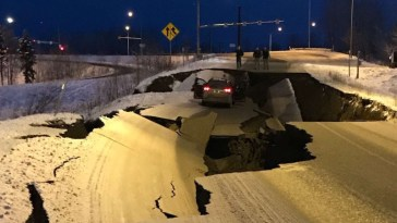 Le sud de l'Alaska secoué par un puissant tremblement de terre