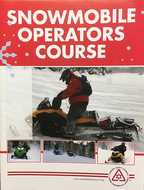Snowmobile Student Manual