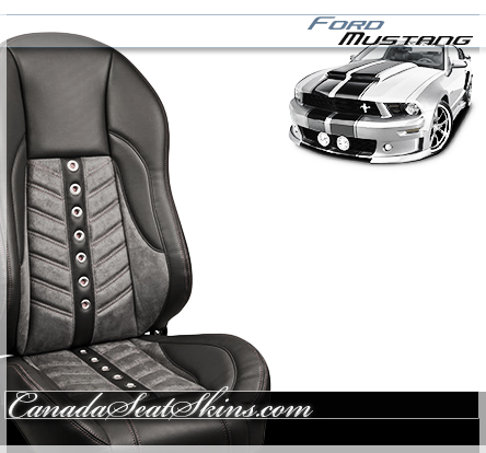 Ford Mustang Restomod Leather Seats