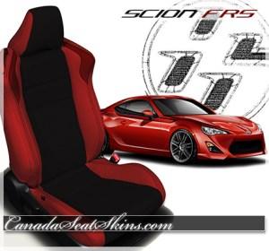 Scion FRS Katzkin Leather Seats