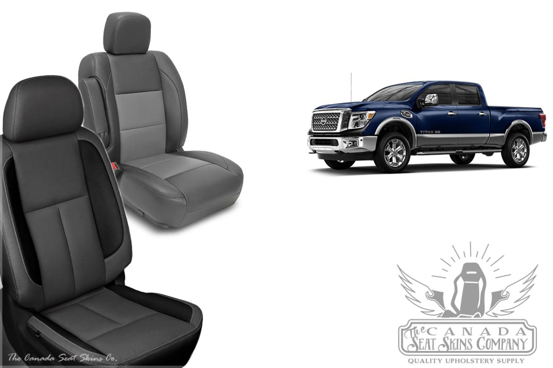 Nissan Titan Leather Seat Pattern Release