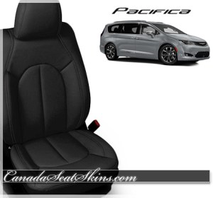 2017 Chrysler Pacifica Black Leather Seats