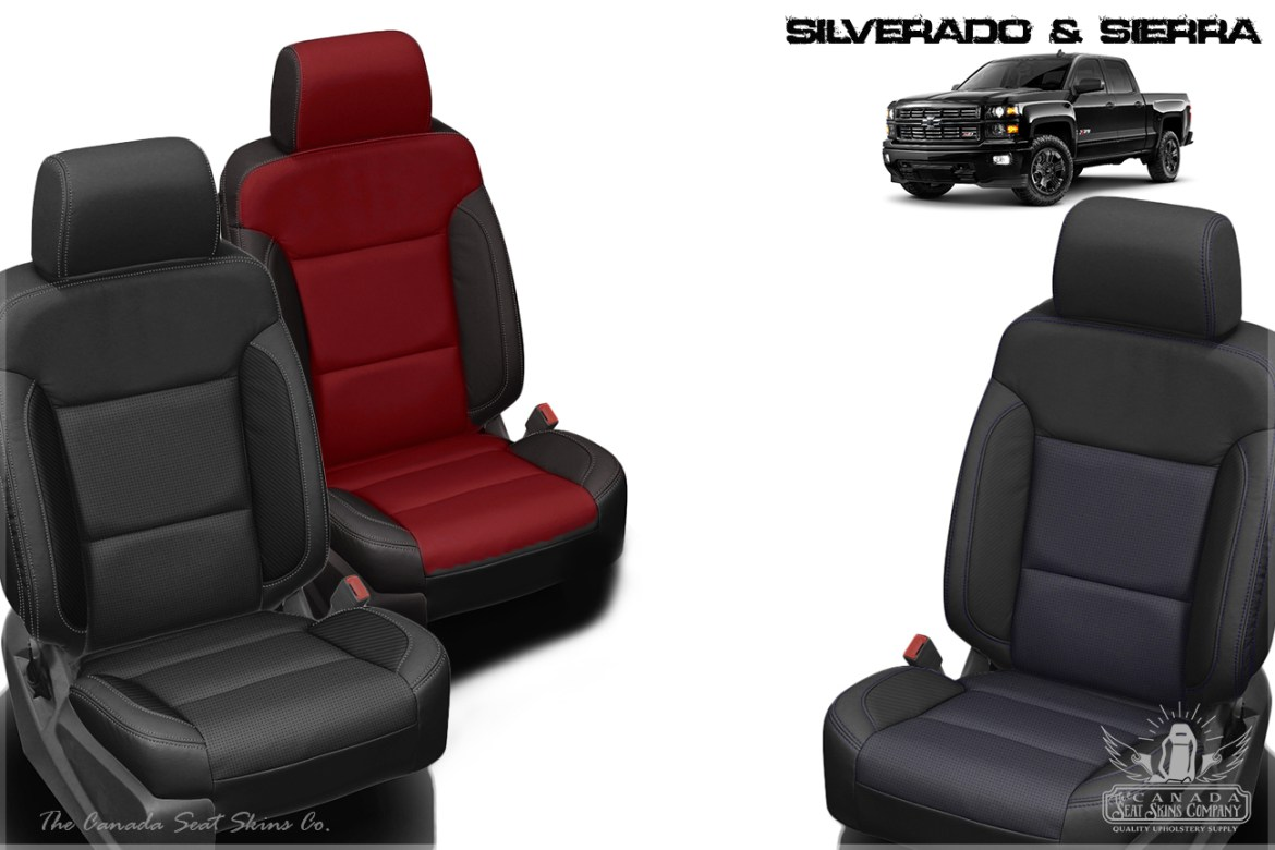 2017 Silverado and Sierra Leather Interior Product Launch