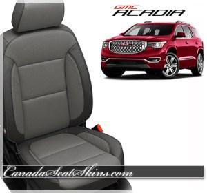 2017 GMC Acadia Charcoal Katzkin Leather Seats