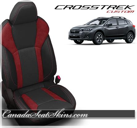 2018 Subaru Crosstrek Leather Pattern Launch The Canada Seat Skins