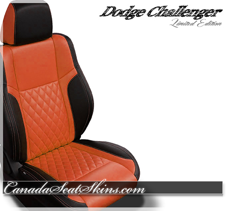 2018 Challenger Diamond Stitched Leather Design in Orange