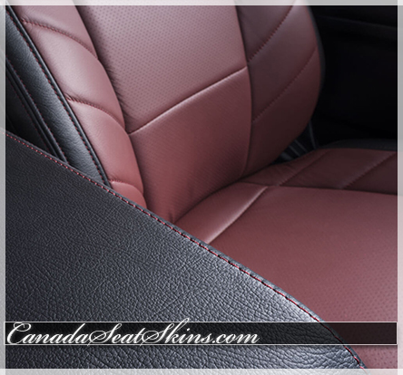 2015 - 2018 F150 Limited Edition Leather Interior Insert Detail