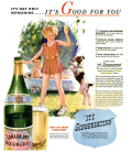 Canada Dry -- Gingervating -- Girl with Dog