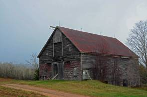 Majestic Working Barn, Near Woodville, N.S.