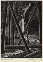 "H. Eric Bergman, ""The Cascade"" (1931)"