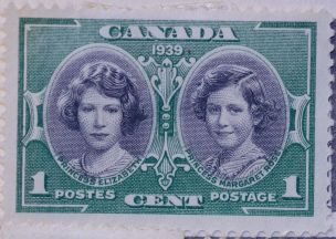 1939 Royal Princesses Stamp